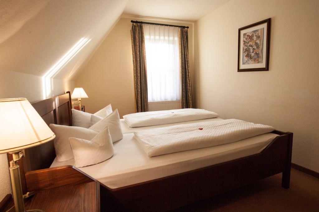 Klosterhof Appartment Schlafzimmer